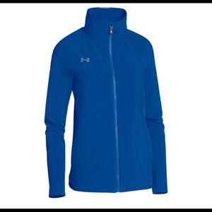 Under Armour Women's Royal UA Squad Woven Jacket